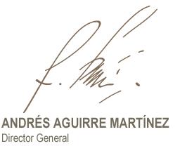 firma Andrés Aguirre
